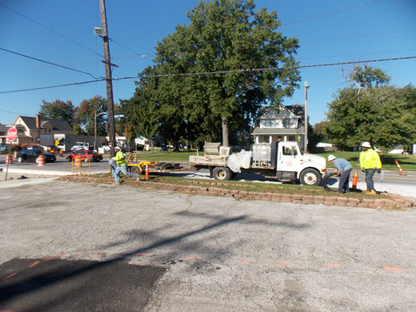 Perk Company - Rocky River Dr. site work